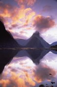 Colin Monteath - Mitre Peak at sunset, Milford Sound, Fiordland National Park, New Zealand