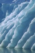 Colin Monteath - Fluted edges of newly rolled over iceberg in Paradise Bay, Antarctic Peninsula, Antarctica