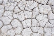 Konrad Wothe - Dry and cracked ground pattern, California