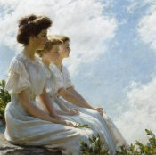 Charles Courtney Curran - On the Heights, 1909