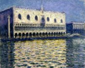 Claude Monet - The Doge's Palace (Le Palais ducal), 1908