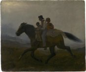 Eastman Johnson - A Ride for Liberty -- The Fugitive Slaves, ca. 1862
