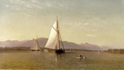Francis Augustus Silva - The Hudson at the Tappan Zee, 1876