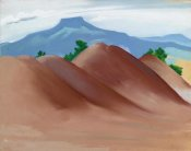 Georgia O'Keeffe - Red Hills with the Pedernal, 1936
