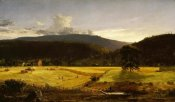 Jasper Francis Cropsey - Bareford Mountains, West Milford, New Jersey, 1850
