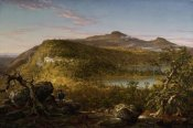 Thomas Cole - A View of the Two Lakes and Mountain House, Catskill Mountains, Morning, 1844