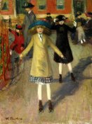 William Glackens - Children Rollerskating, ca. 1912-14