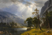 Albert Bierstadt - Yosemite Valley, 1866