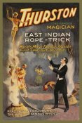 Strobridge - Magicians: East Indian Rope Trick: Thurston the Famous Magician