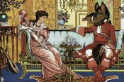 Walter Crane - Beauty and the Beast  - The Courtship