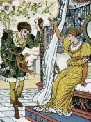 Walter Crane - Frog Prince - The Transformation