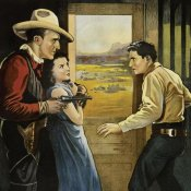 Unknown - Vintage Westerns: South of Santa Fe - Detail