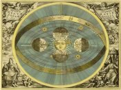 Andreas Cellarius - Maps of the Heavens: Sceno Systematis Copernicani