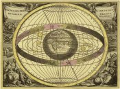 Andreas Cellarius - Maps of the Heavens: Scenographia Compagis Mundanae Brahea