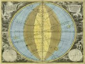 Andreas Cellarius - Maps of the Heavens: Hemisphaeria Sphaerarum