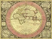 Andreas Cellarius - Maps of the Heavens: Hemisphaerium Orbis Antiqui