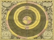 Andreas Cellarius - Maps of the Heavens: Hypothesis Ptomlemaica