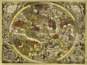 Andreas Cellarius - Maps of the Heavens: Coelistellati Christianina