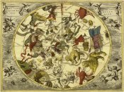 Andreas Cellarius - Maps of the Heavens: Planisphaerium Stellatum Boreale