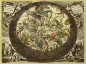 Andreas Cellarius - Maps of the Heavens: Hemisphaerium Stellatum Boreale Cum Subiecto