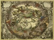 Andreas Cellarius - Maps of the Heavens: Haemisphaerium Sceno Graphicum Australe