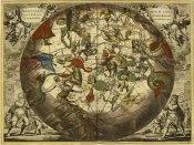 Andreas Cellarius - Maps of the Heavens: Haemisphaerium Stellatum Australe Aequali