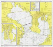 NOAA Historical Map and Chart Collection - Nautical Chart - Tampa Bay - Northern Part ca. 1975