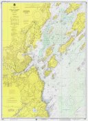 NOAA Historical Map and Chart Collection - Nautical Chart - Portland Harbor and Vicinity ca. 1974
