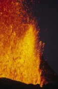 Tui De Roy - Lava fountains, February 1995, Fernandina Island, Galapagos Islands, Ecuador