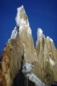 Tui De Roy - Morning sun on granite spires, Cerro Torre, Los Glaciares NP, Argentina