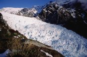 Tui De Roy - Upper Fox Glacier in winter, Westland NP, New Zealand
