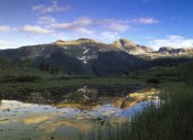 Tim Fitzharris - West Needle Mountains reflected pond, Weminuche Wilderness, Colorado