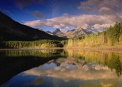 Tim Fitzharris - Fortress Mountain at Wedge Pond, Kananaskis Country, Alberta, Canada