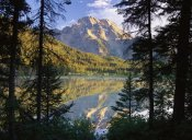 Tim Fitzharris - Mt Moran and String Lake, Grand Teton National Park, Wyoming