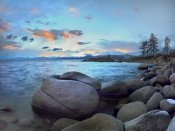 Tim Fitzharris - Rocky shoreline along Hidden Beach, Lake Tahoe, Nevada