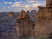 Tim Fitzharris - Molly's Castle seen from Goblin Valley, Utah