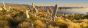 Tim Fitzharris - Panorama of tufa towers at Mono Lake, California