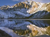 Tim Fitzharris - Laurel Mountain and Convict Lake in winter, eastern Sierra Nevada, California