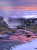 Tim Fitzharris - Hot Creek at sunset, Mammoth Lakes region, Sierra Nevada, California