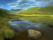 Tim Fitzharris - Reflection at Mount Powell and Piney Lake, Colorado
