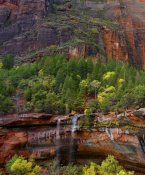 Tim Fitzharris - Cascades at Emerald Pools, Zion National Park, Utah