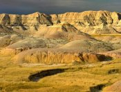 Tim Fitzharris - Eroded buttes and prairie in Badlands National Park, South Dakota