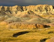 Tim Fitzharris - Eroded buttes, Badlands National Park, South Dakota
