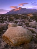 Tim Fitzharris - Boulder field and El Capitan, Guadalupe Mountains National Park, Texas