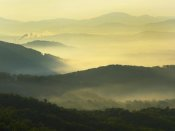 Tim Fitzharris - Shining Rock Wilderness from the Blue Ridge Parkway, North Carolina
