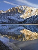 Tim Fitzharris - Laurel Mountain reflected in Convict Lake, eastern Sierra Nevada, California