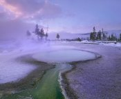 Tim Fitzharris - Hot spring, Upper Geyser Basin, Yellowstone National Park, Wyoming