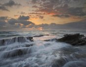 Tim Fitzharris - Waves breaking on rocks, Playa Santa Teresa, Costa Rica