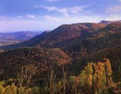 Tim Fitzharris - Blue Ridge Mountain Range near Cumberland Knob, North Carolina