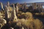 Gerry Ellis - Wind and rain eroded tufa formations, Mono Lake, California